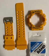 CASIO  G-Shock Band GA-100A-9A GA-100A-9  Yellow  Strap + Bezel GA-100A  GA100