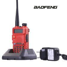 BAOFENG UV5R Walkie Talkie HAM Outdoor Wireless Communication RED Transceiver