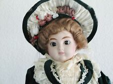 """Gorham Christmas Muscial 18"""" Doll - """"NOEL"""" 1987 Boxed - Plays """"White Christmas"""""""