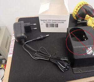 Ladegerät Universalnetzteil passend für Adaro Adalit L3000 L2000 Feuerwehr