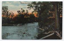 NY ~ River Scene near CAPE VINCENT New York c1908 Jefferson County Postcard