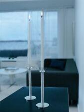 Herstal Mini Pillar Set of 2 Cylinder Candle Holder Set Candle stick Christmas