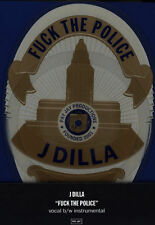 "J Dilla - F The Police 7"" Badge-shaped Picture Disc  Vinyl RSD 2015 NEW"