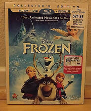 Disney Frozen Elsa Anna Kristoff DVD Blu Ray Olaf Sven
