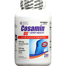 Nutramax Cosamin DS Clinically Proven for Joint Health - 230 Capsules