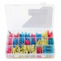 240pcs Heat Shrink Wire Connector Kit Waterproof Marine Car Automotive Terminals