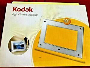 "Kodak FACTORY SEALED NEW 10"" digital frame decorative faceplate"