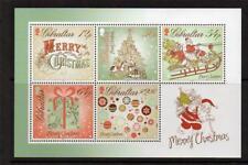 "Gibraltar - ""SANTA CLAUS ~ CHRISTMAS 2013"" MNH Mini Sheet MS 2013 !"