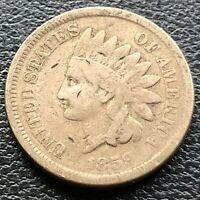 1859 Indian Head Cent 1c Circulated #23289