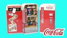 NEW RARE Enesco Coca-Cola Vending Machine Multi-Action/Lights Music Box VIDEO