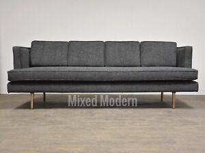 Edward Wormley for Dunbar Grey Sofa