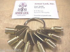 Chicago-Ace-I--ACEII-Depth and space keys-7-cut keys-Locksmith-Precision cut