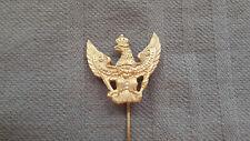 Zivilabzeichen Schwedter Adler an langer Nadel Preussen Deutsch 1WK gold