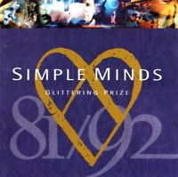 SIMPLE MINDS - GLITTERING PRIZE CD (1981-1992) BEST OF / GREATEST HITS