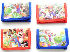 Super Mario Childrens boy girl Wallet purse  4 styles to choose from