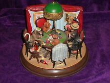 Dogs Vintage Danbury Mint Dachshunds Playing Poker