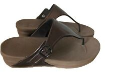 fitflop size 7 brown