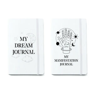 Manifestation Journal Dream Diary Gratitude Intention Law Of Attraction Notebook