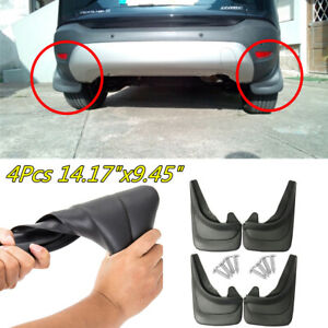 "14.17""x9.45"" Car Soft Plastic Mud Flap Mudflaps Splash Guard Fender Protector"