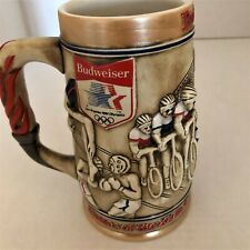 Vintage Los Angeles 1984 Olympic Commemorative Stein By Anheuser Busch