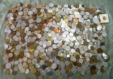 10 Pounds! Foreign Coins Italy Germany France China Russia Middle East
