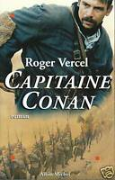 Livre capitaine Conan Roger Vercel book