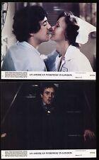 AMERICAN WEREWOLF IN LONDON - 1981- 3 Orig 8x10 Color Glossy Stills - HORROR
