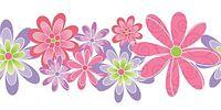 Design by Color Girls Floral Laser Cut Wallpaper Border MN5031