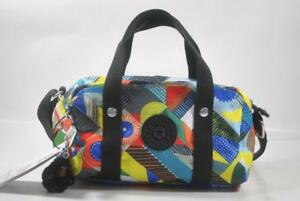 New With Tag Kipling DANIELLA Small Satchel Crossbody Bag HB6647-Abstract Beauty