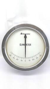 Observator clinometer marine ship vintage antique aluminium inclinometer