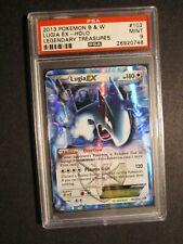 PSA-9 Pokemon LUGIA EX Card BW LEGENDARY TREASURES Set 102/113 Rare Black White