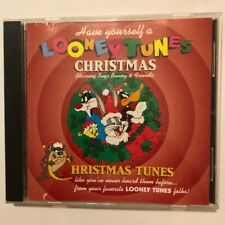 Have Yourself A Looney Tunes Christmas 1994- Audio CD,Warner Bros. VERY GOOD