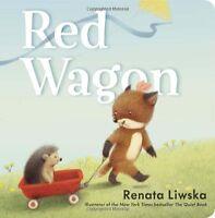 Red Wagon by Renata Liwska