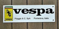 "Vespa scooter sign ...large 18"" wide"