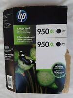HP 950XL Black High Yield Ink Cartridge - Black - Pack of 1 (CR317BN)