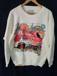 Kraig Kinser 11K 2002 Nascar Sprint Car Racing Big Graphic Sweatshirt Size Large