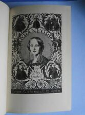 Cranford by Mrs. Gaskell, 1948, illus. Joan Hassall, quarter-leather binding