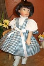 Pretty Checked Dress for Bitty Bethany Doll