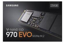 Samsung 970 EVO 250GB 2280 V-NAND M.2 PCI Express Solid State Drive SEALED UK