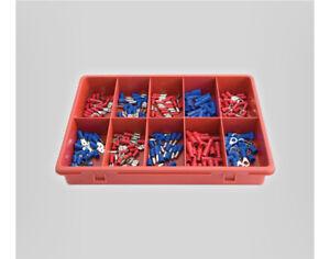 Insulated Electrical Crimp Terminals 200 pieces - Jamec Pem