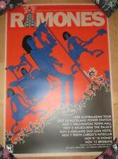 RAMONES concert gig poster 1989 AUSTRALIAN TOUR Mambo