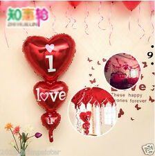"""Romance Weeding Decoration 48""""String Heart Foil Balloons Propose Party Supplies"""