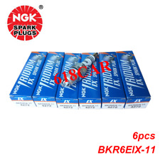 Set of 6 NGK Iridium Spark Plugs BKR6EIX-11 for Acura Audi Ford Honda