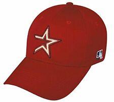 Houston Astros MLB OC Sports Throwback Hat Cap Red / Gold Star Men's Adjustable