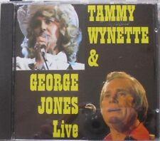 Tammy Wynette & George Jones Live - CD