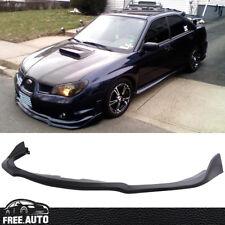 Black PP Front Bumper Lip Spoiler Bodykit for 06-07 Subaru Impreza WRX STI S204