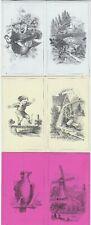 RARE 3 Folding Victorian Trade Cards - Morrison Wool Clothing Braintree MA 1880