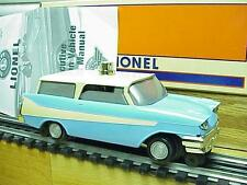 Lionel 18454 Blue '68 Inspection Car+Paperwork+Orig Box Minty VG+Deal!