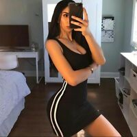 Summer Dress Sexy Women Bandage Bodycon Evening Party Club Short Dress Clothes