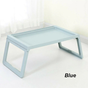 Portable Laptop Desk Foldable Bed Tray Stand Breakfast Table for Home Dorm Room